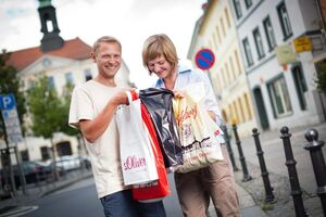 Shopping in Radeberg © W. Darrelmann